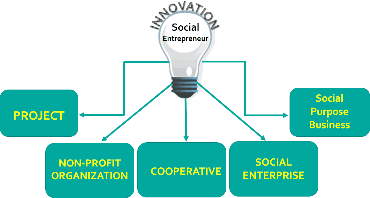 social entrpreneurship Social entrepreneurship involves having a vision of a greater good and working to make it realsocial entrepreneurs create and run both for-profit and non-profit.